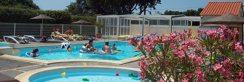 camping piscine près des Sables d'Olonne