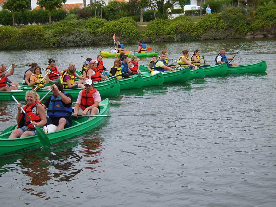 promenades en canoe