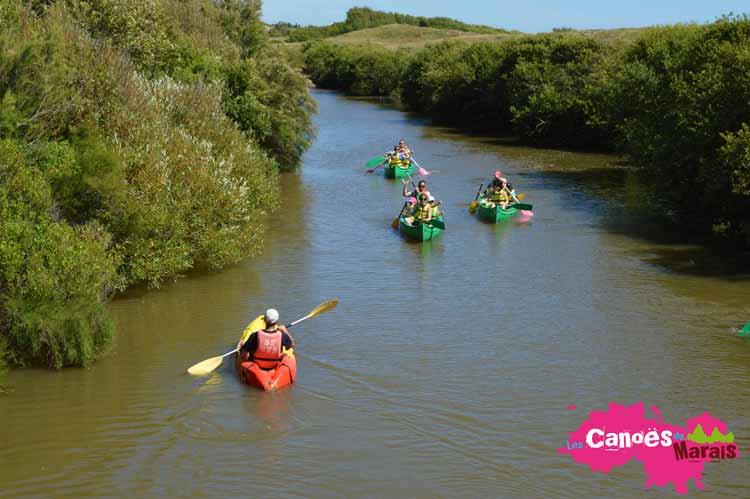 Les canoës du Marais