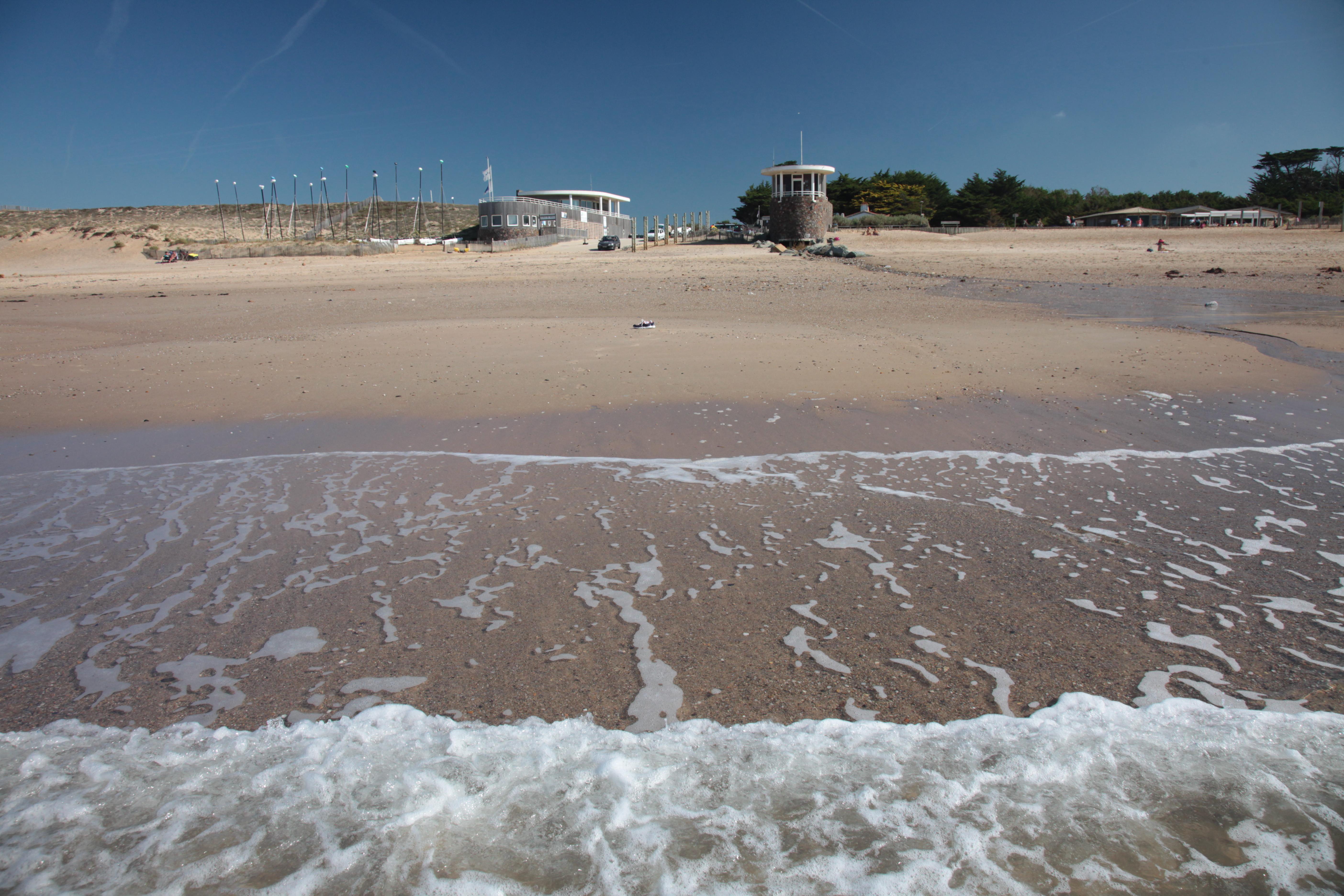 Plage de la Normandelière à Brem sur mer