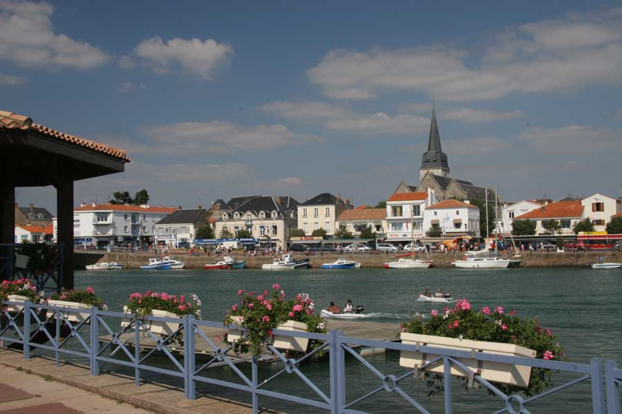 Vieux port de Saint Gilles Croix de Vie