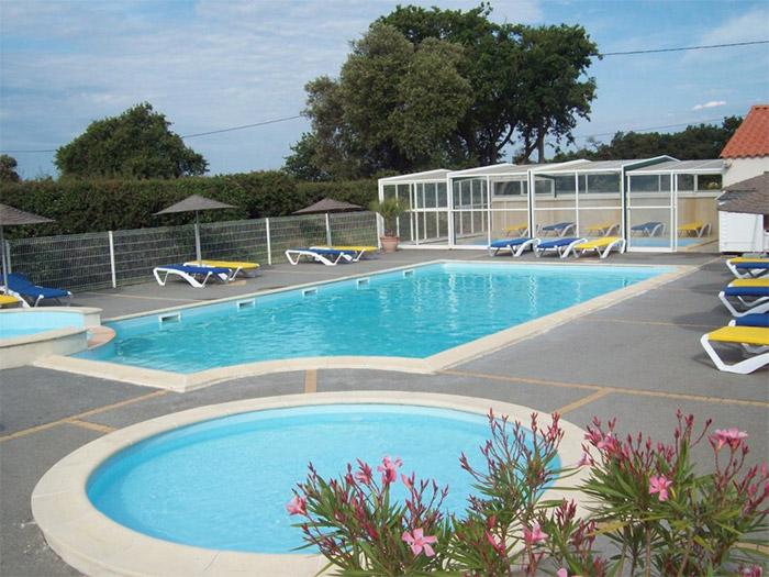 camping le Roc Vente mobil home avec piscines